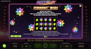 Starburst Bonus